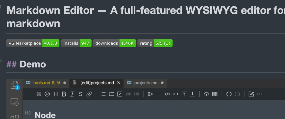 Cover image for How to make your vscode become a seamless markdown writer like typora