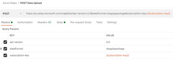 POST Data Upload API