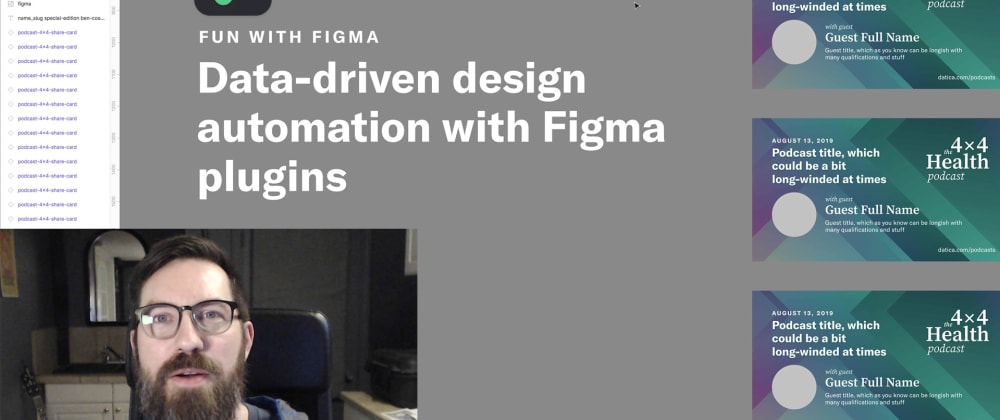 Cover image for Figma Tutorial: Automating production with Google Sheets