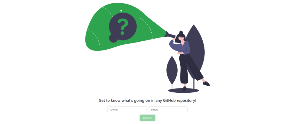 Cover image for Get to know what's going on in any GitHub repository!