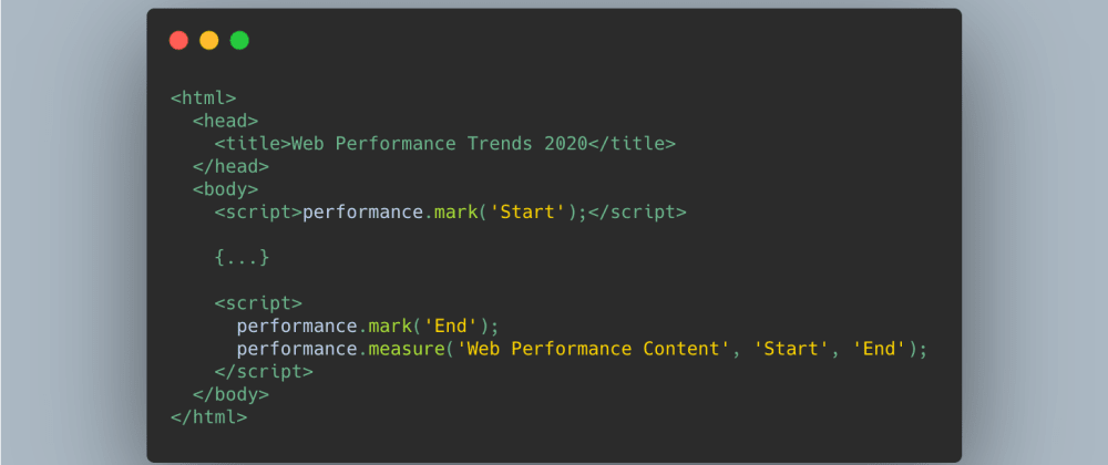 Cover image for Web Performance Trends in 2020 you should keep an eye on