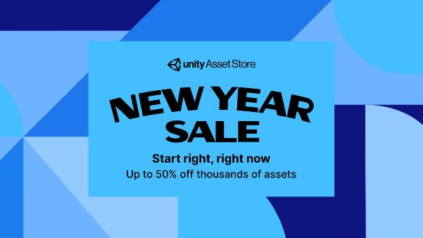 Asset Store New Year Sale