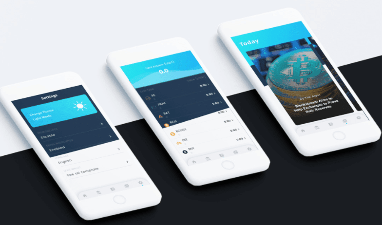 Crypto Wallet UI Kit Template Flutter