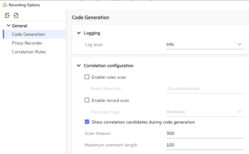 DevWeb Correlation Candidates