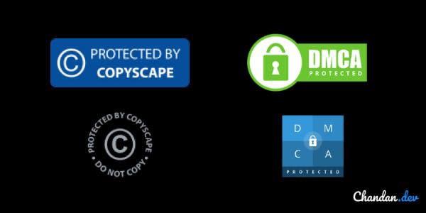 copyright trust badges