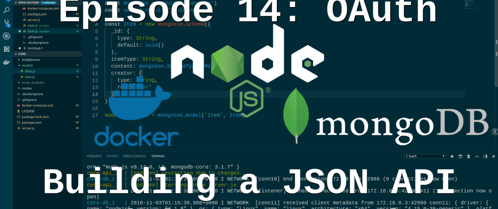 Cover image for Episode 14: Building a JSON API - Twitter OAuth (OAuth 1.0)
