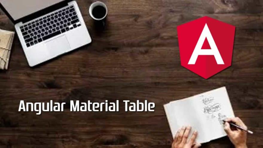 Angular Table