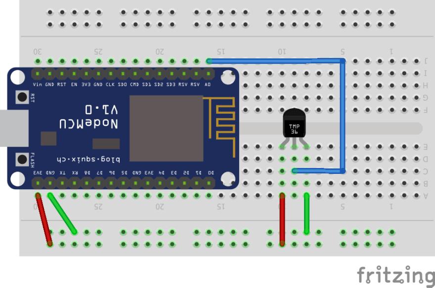 Temperature Sensor schematic