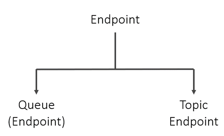 queue endpoint and topic endpoint