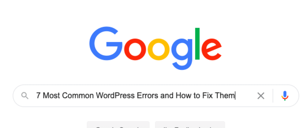Cover image for 7 Most Common WordPress Errors and How to Fix Them