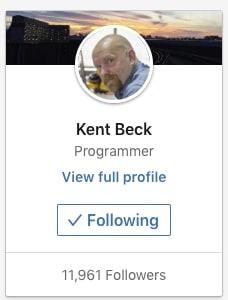 """Kent Beck is a """"programmer"""""""