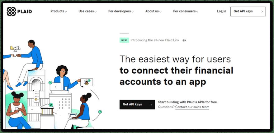 Plaid website