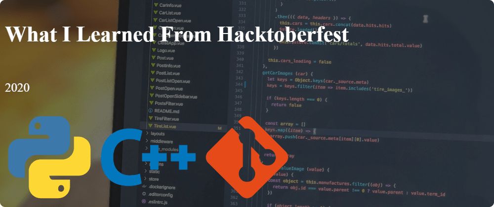 Cover image for What I Learned From Hacktoberfest