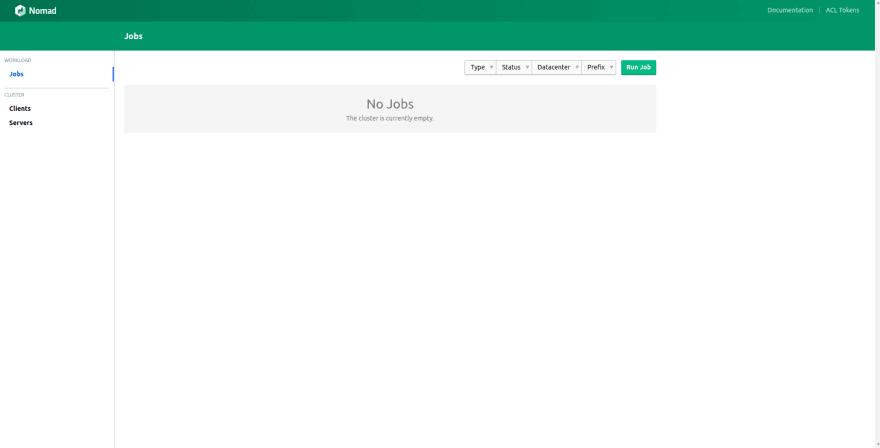 Nomad Orchestrator/Scheduler UI
