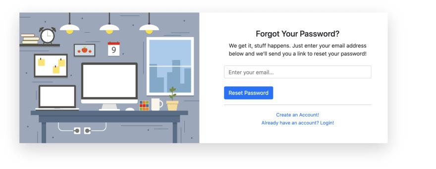 Forgot Password View