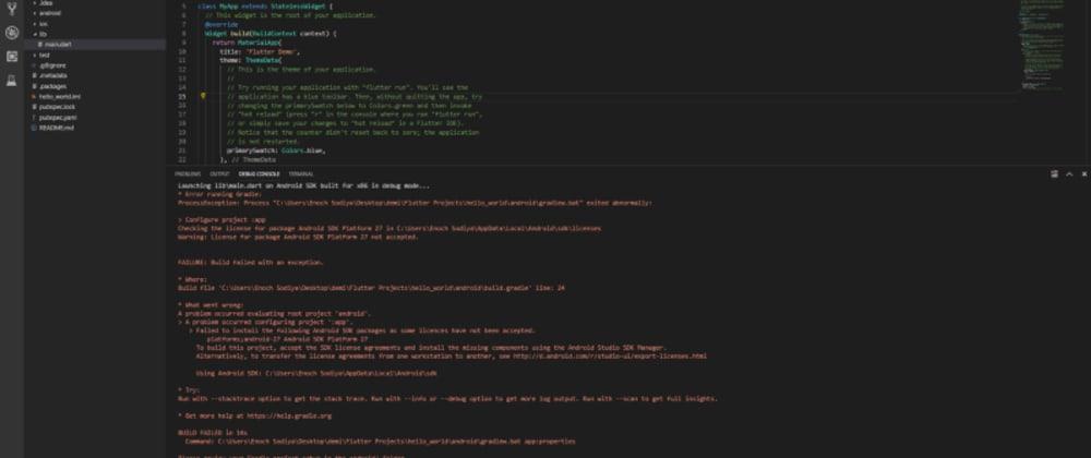 Cover image for Corrigindo o erro do AndroidX no Flutter