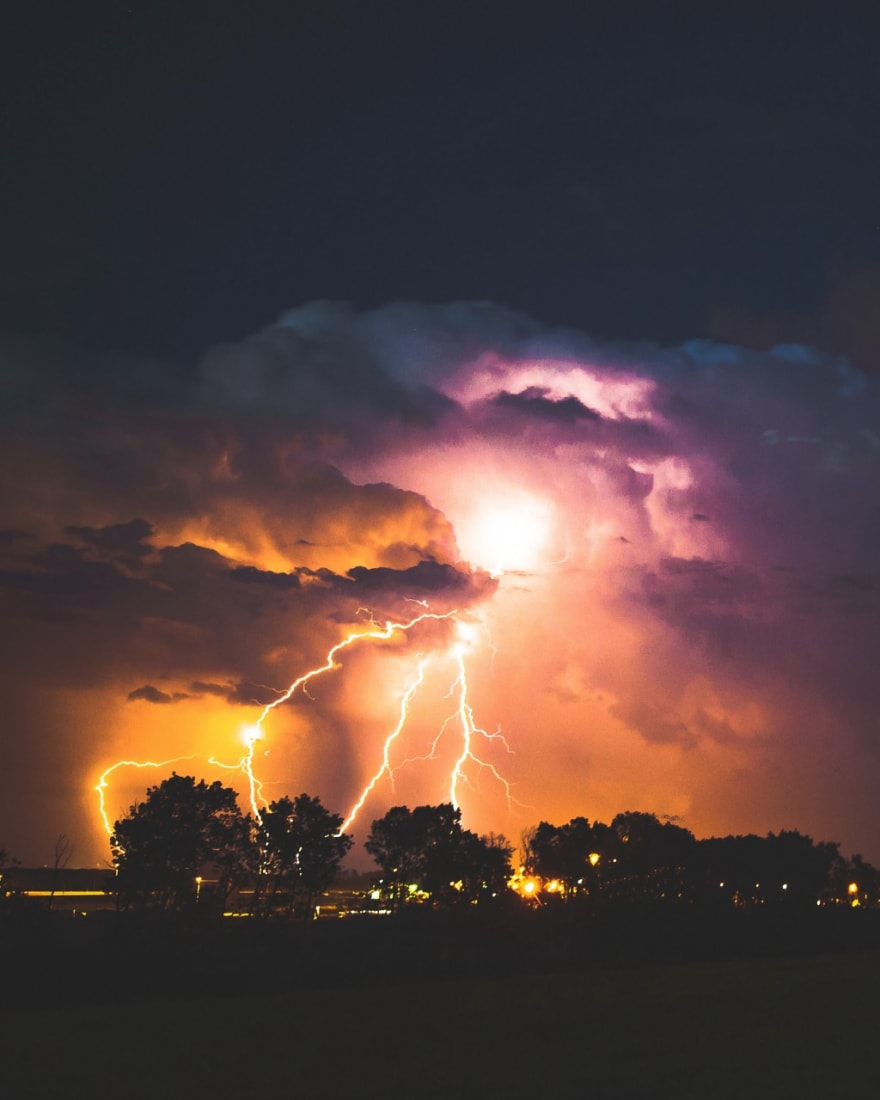 The only thing native to the cloud is the lightning really
