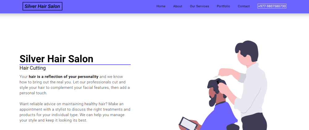 Cover image for Hair Salon React App with Strapi Headless CMS. Design and Code