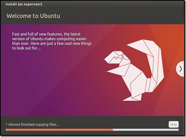Ubuntu setup and Install - Welcome to Ubuntu