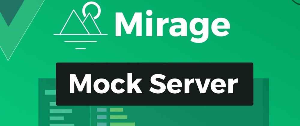 Cover image for Use MirageJS to fake API calls with NextJS