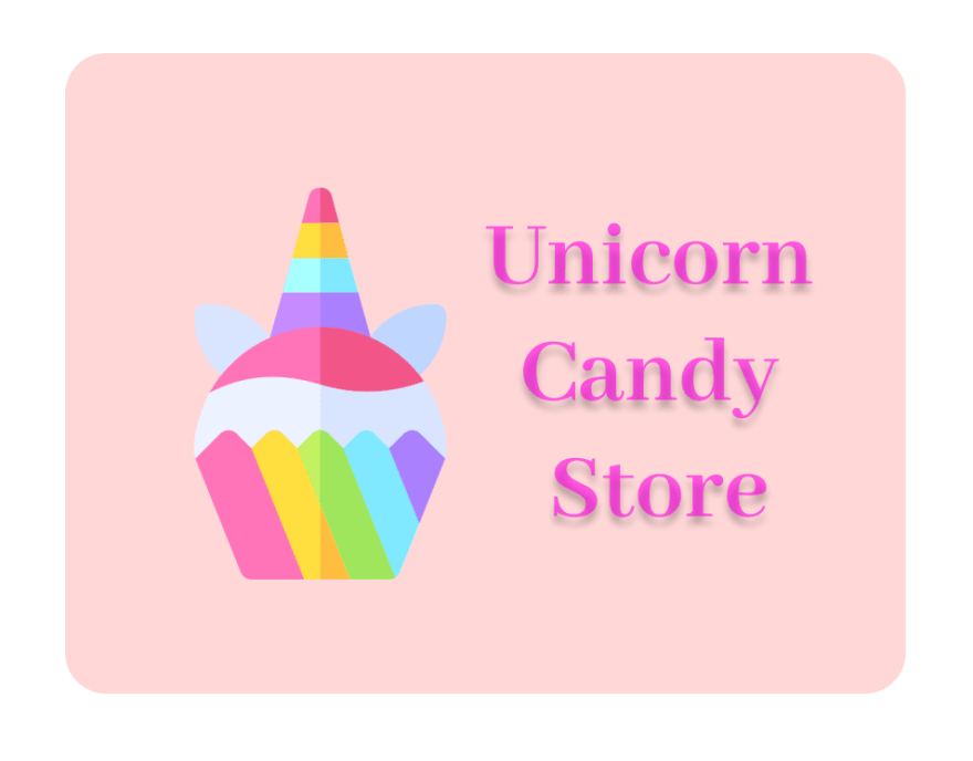 Unicorn Candy store