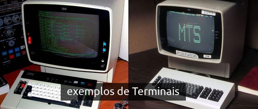 exemplos de terminais
