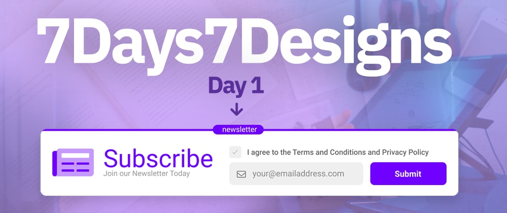 Cover image for The #7Days7Designs Challenge by Gary Simon