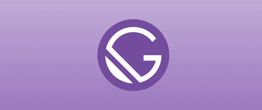 Cover image for How I got started with GatsbyJS and why you should too