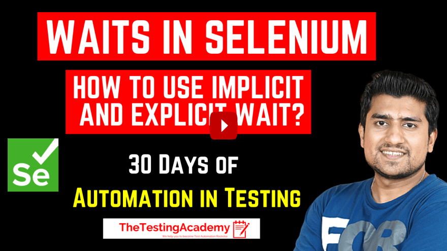 Waits in Selenium