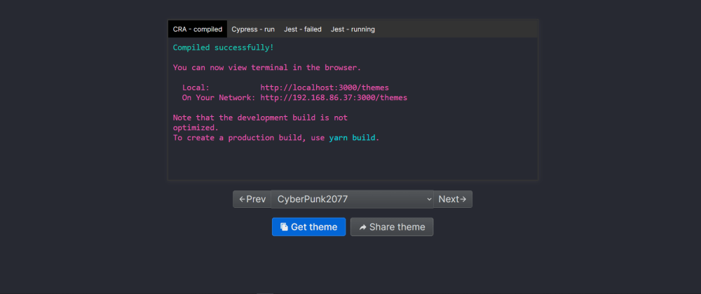 Cover image for Fluent Terminal Themes