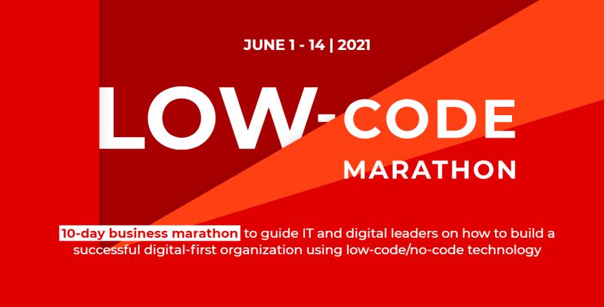 Low-Code Marathon Developer Conference