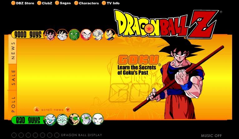 retro example dragon ball z screenshot