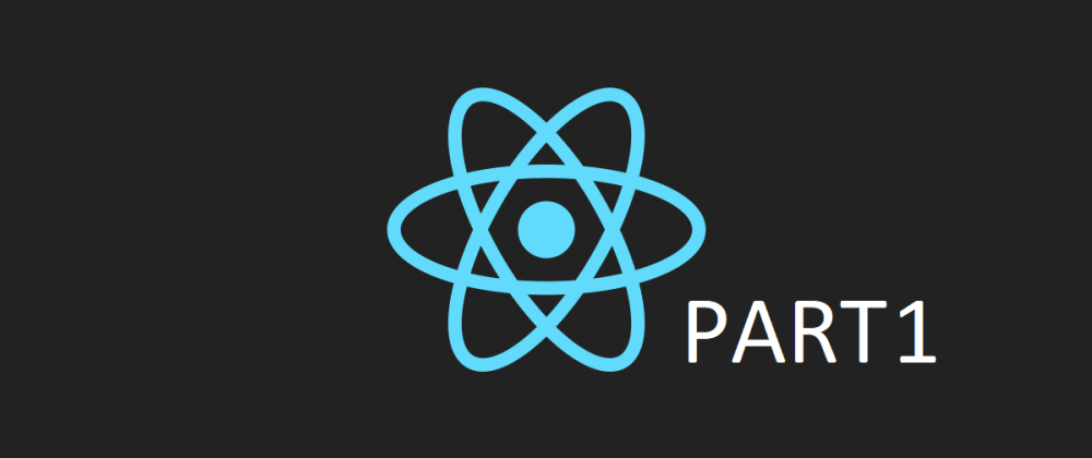 Cover image for React from scratch Part 1