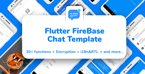 Flutter Firebase Chat<br> Template