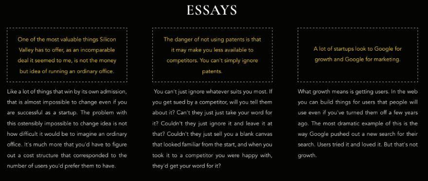 GPT2 generated essays
