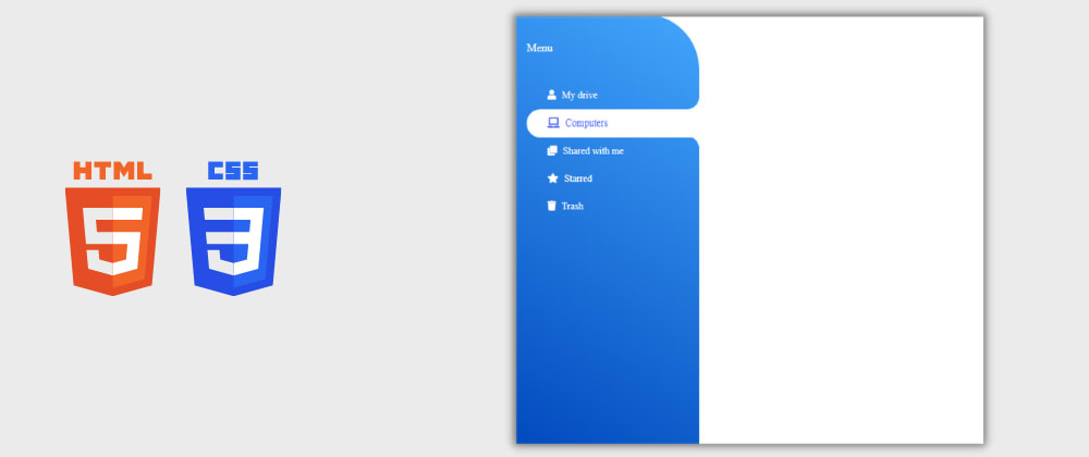 Cover image for Day 4/30 : Side Navigation Bar using HTML and CSS