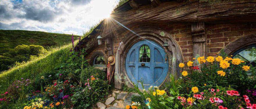 image of hobbit hole