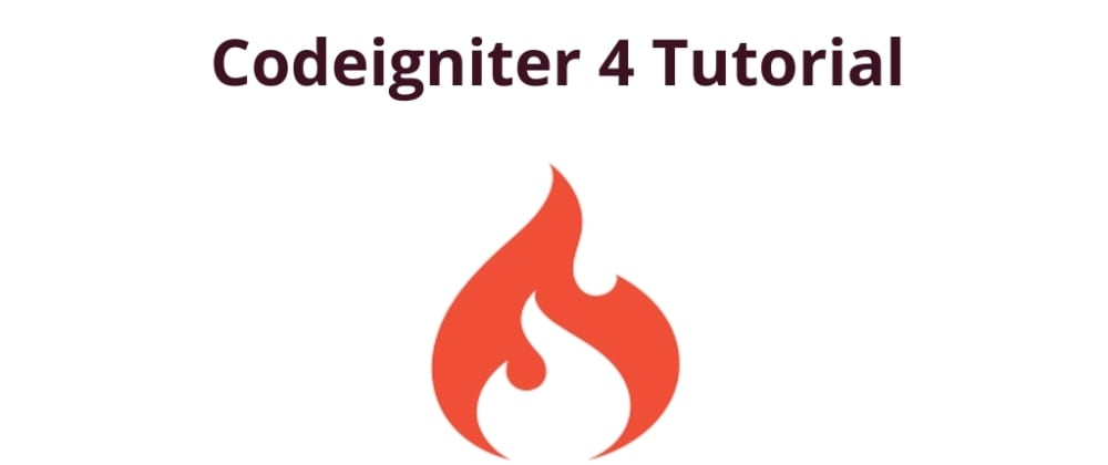 Cover image for Codeigniter 4 Tutorial