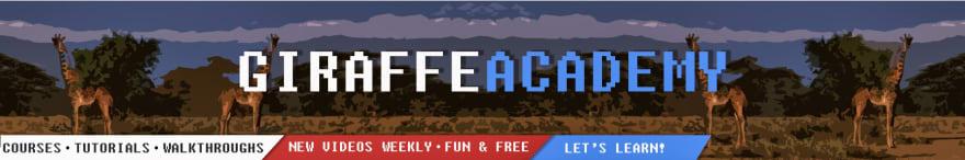 Mike Dane / Giraffe Academy Channel Banner