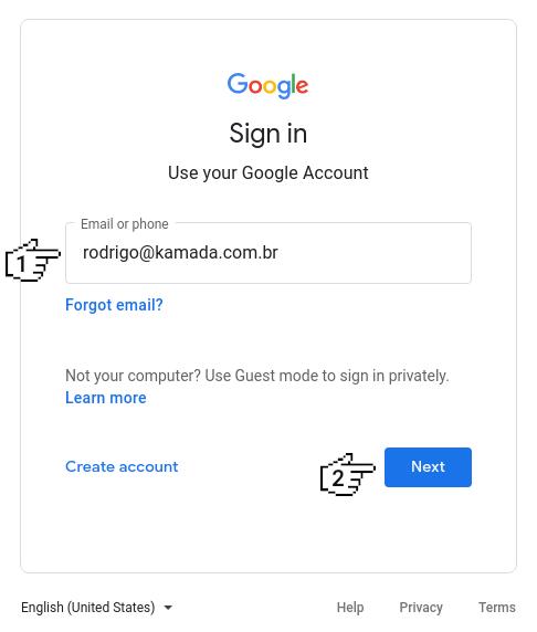 Google reCAPTCHA - Sign up