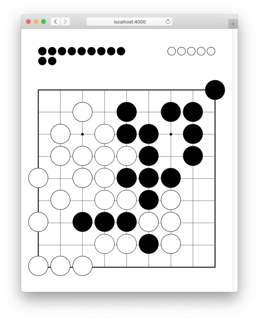 The Go game, implemented with Phoenix LiveView