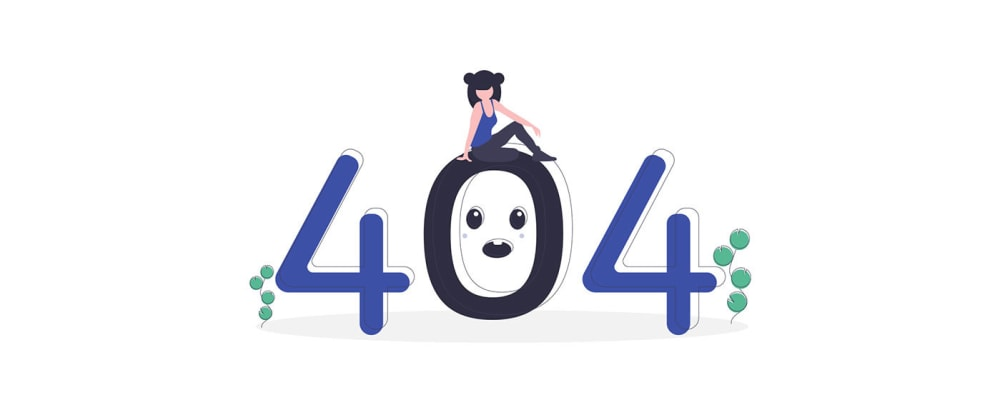 Cover image for 25 creative 404-Error Pages with cool animations