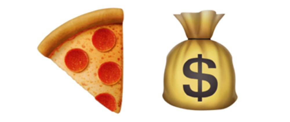 Cover image for Results from my pizza fund experiment aka digital tip jar