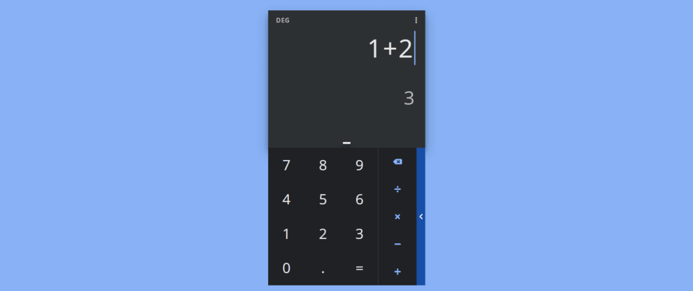 Cover image for DailyUI #004 - Calculator (CodePen)
