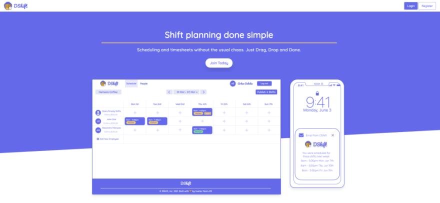 Chingu V28 Bears Team 9—DShift app