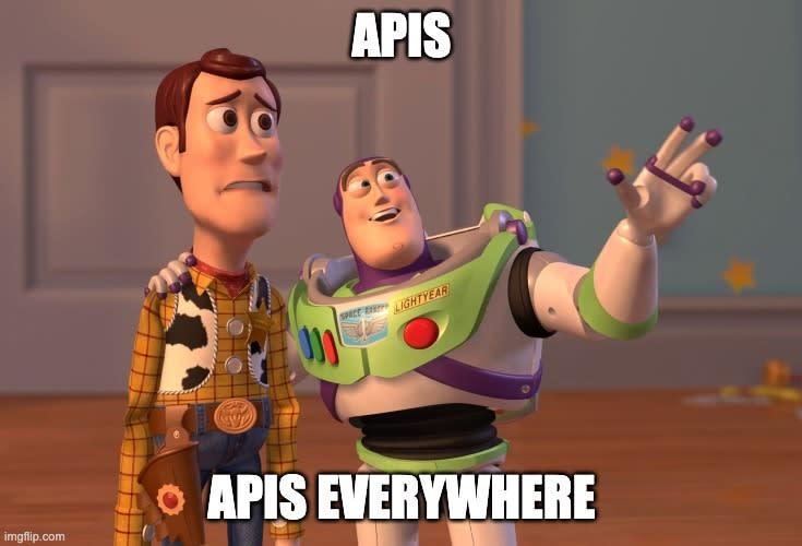 APIs everywhere