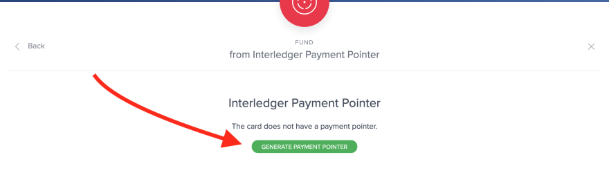 Generate payment pointer