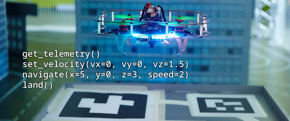 Cover image for Open source framework to start programming drones within an hour