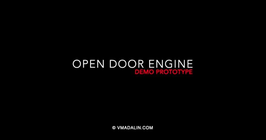 Demo prototype door engine