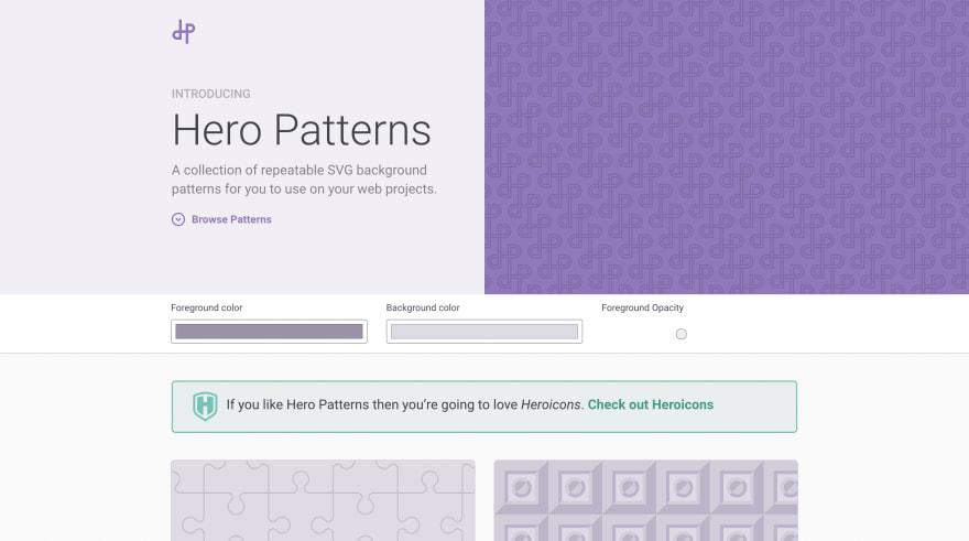 Hero Patterns